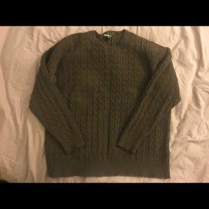 VGUC Chocolate Eddie Bauer sweater, size XXL